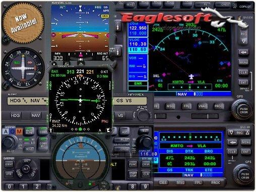 Avionics From Eaglesoft   Ron Hamilton of Eaglesoft reports that ...