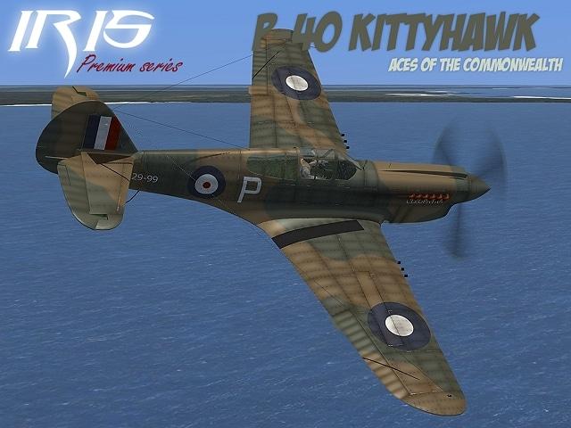 P-40 Kittyhawk From IRIS