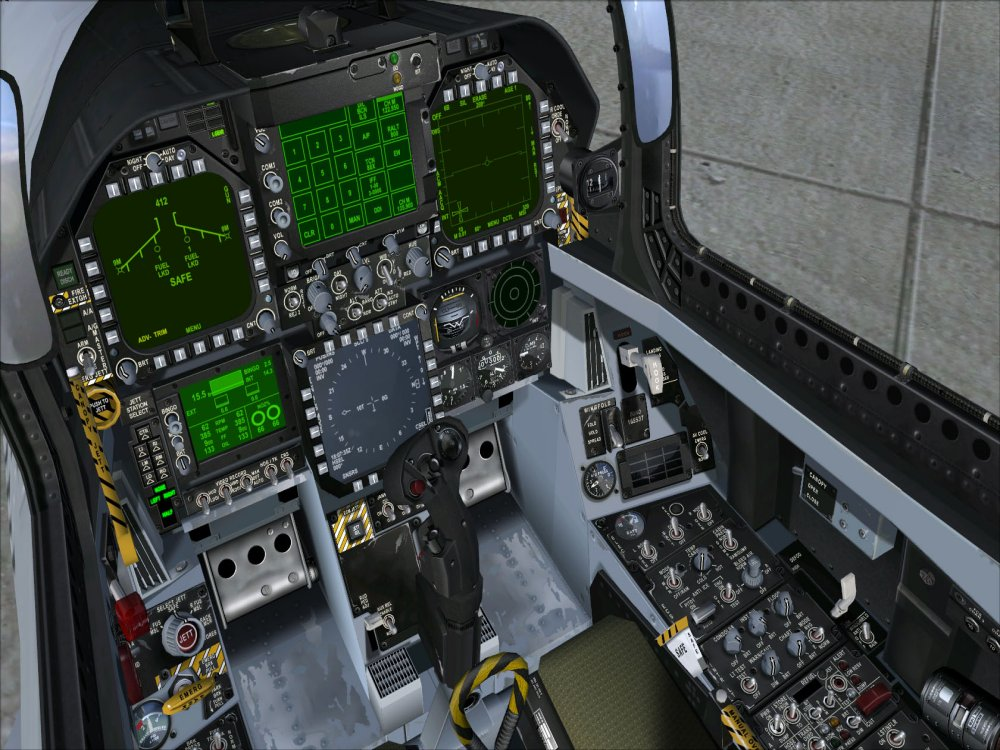 F 18 Cockpit Layout virtual-cockpit...