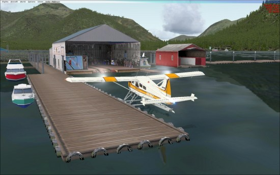 Figure 22 Seaplane Dock Petersburg