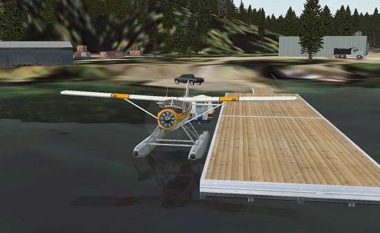 Figure 24 Seaplane Dock, Rdna Bay