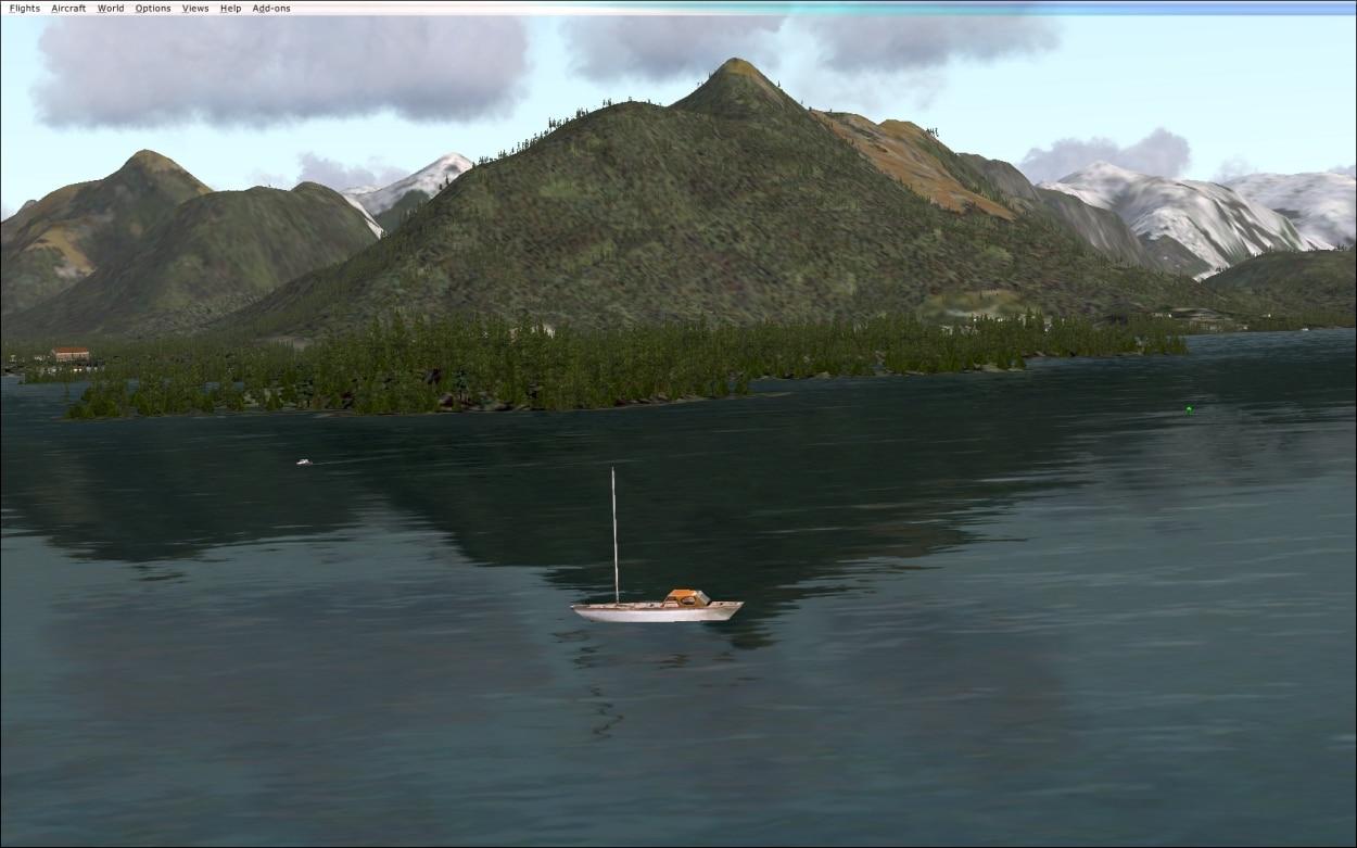 Figure 28 Yacht near Sitka