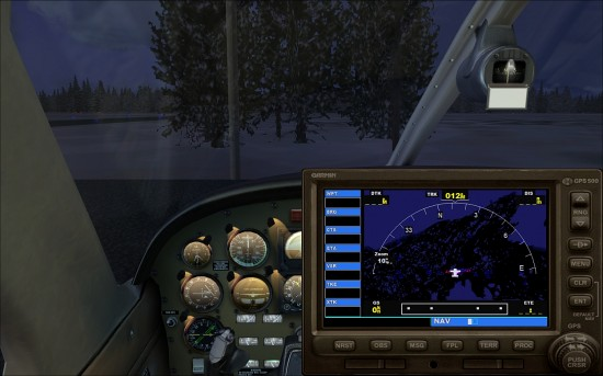 Figure 11 VC Showing GPS pop-up