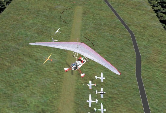 Figure 24 Aerial View Gliders