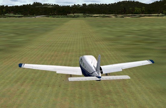 Figure 27 Grass Strip Landing