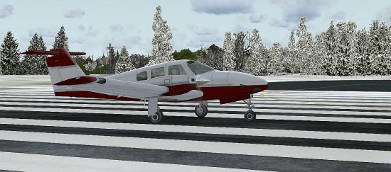Figure 3 WSS FSX seminole on the ground
