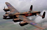 Lancaster, courtesy of the Battle of Britain Memorial Flight