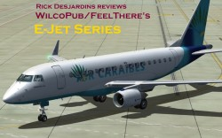 Review: Wilco's E-Jets for FS2004 and FSX