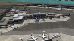 FS2004-Another side of Terminal B and west cargo hangers
