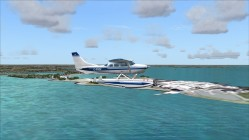 FS2004-Flying past Deer Island - treatment plant is missing