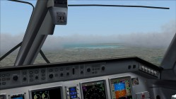 FS2004-Looking out towards Boston airport