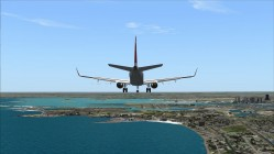 FS2004-On final to 22L