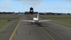 FS2004-Taxiing towards terminal