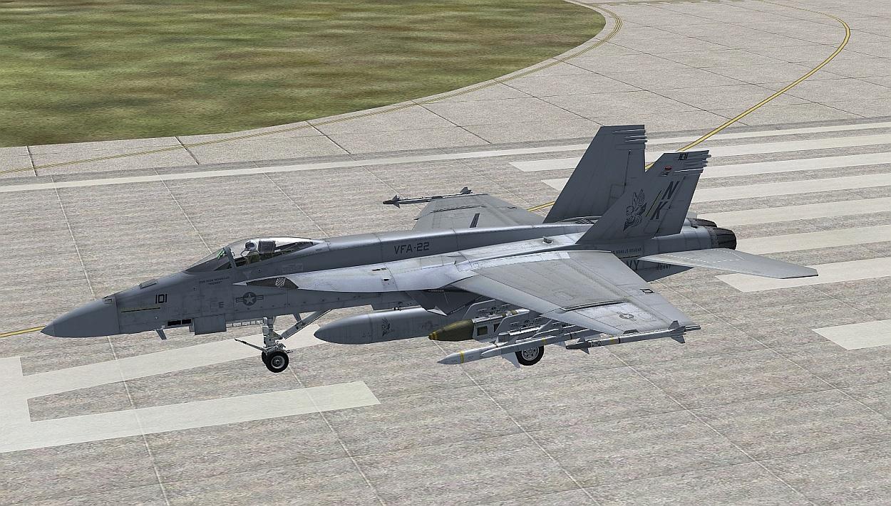 Review: VRS F/A-18E Superbug FSX