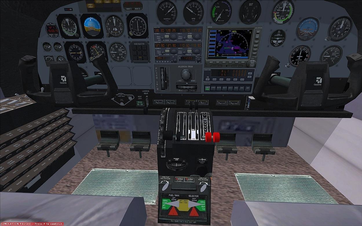 Figure Vcol T Crusader Cockpit Layout