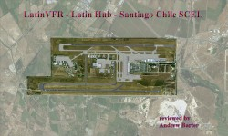 Review: LatinVFR – Latin Hub – Santiago Chile SCEL