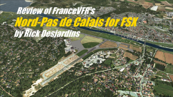 Review: FranceVFR – Nord-Pas de Calais for FSX