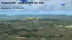 FranceVFR – Alsace VFR for FSX review