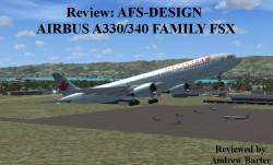 Review: AFS-DESIGN – AIRBUS A330/340 FAMILY FSX