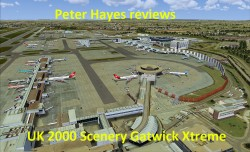 Review: UK2000 SCENERY –  GATWICK XTREME V3
