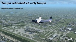 Review FlyTampa – rebooted v2 for FSX