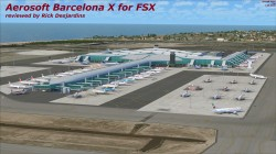 Aerosoft – Barcelona X for FSX review