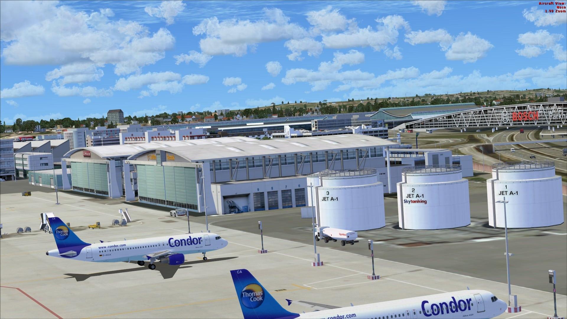 Aerosoft German Airports 1 Stuttgart X For Fsx Review