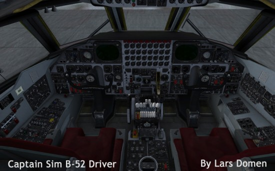 Overview of the B-52 Flight deck