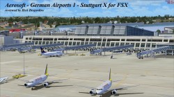 Aerosoft – German Airports 1 – Stuttgart X for FSX review