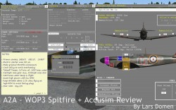A2A – WOP3 Spitfire + Accusim reviewed