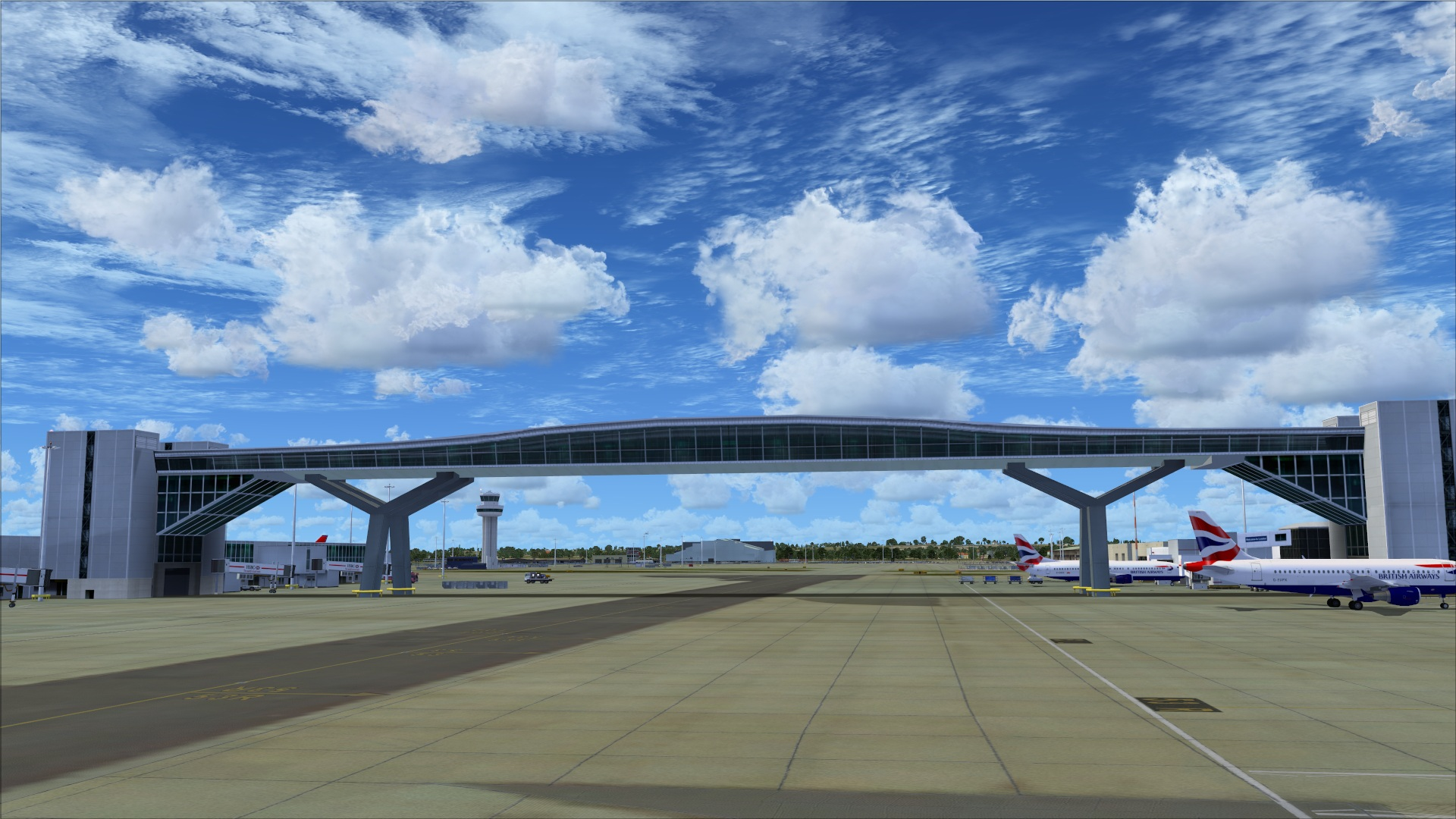 Review: UK2000 Scenery Gatwick Xtreme V3 For FSX