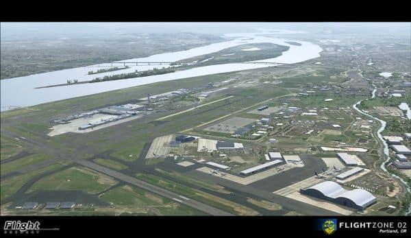 Flightzone 02 portland unofficial patch for fsx | missing vauchez.