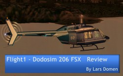 Flight1 – Dodosim 206 FSX Reviewed