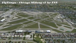 Review of FlyTampa's Chicago Midway v2 for FSX