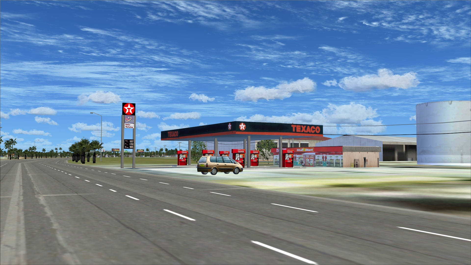 Impressive Petrol station on Parque Jose Francisco Pena Gomez roadway 1920 x 1080 · 467 kB · jpeg
