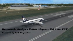 Review of Drzewiecki Design – Polish Airports Vol 2 for FSX