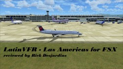 LATINVFR – LAS AMERICAS – MDSD v1.1 for FSX review