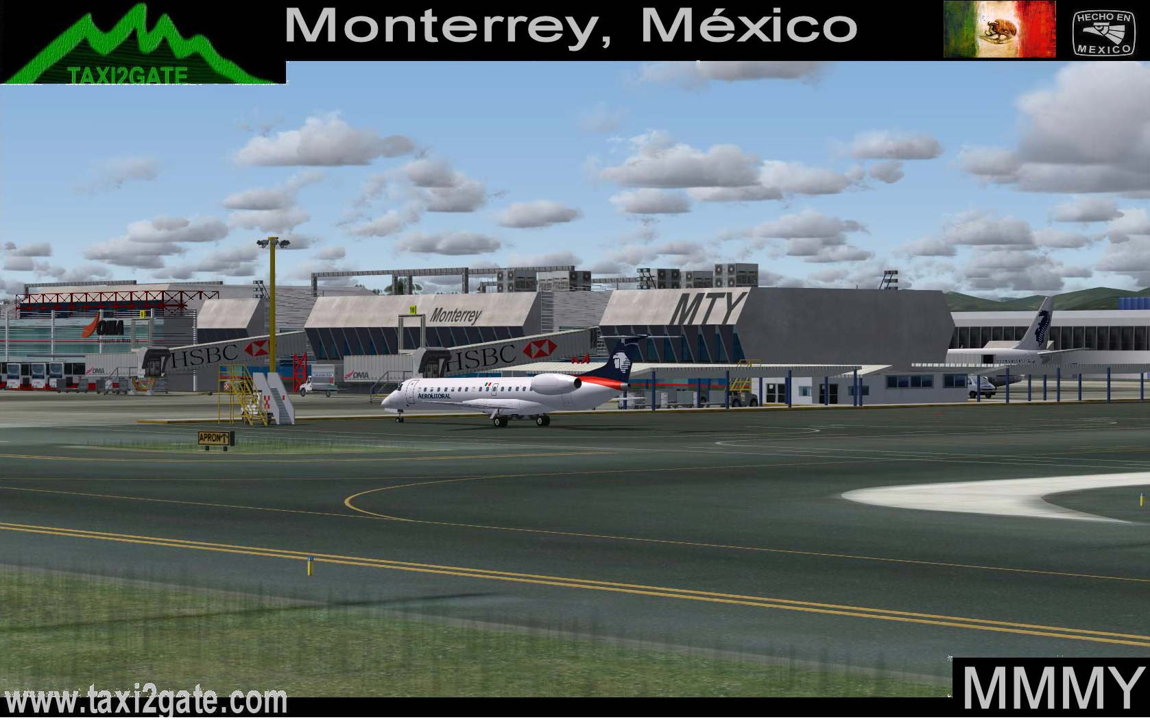 Aeroporto Monterrey : Taxi gate monterrey mmmy v is the th most