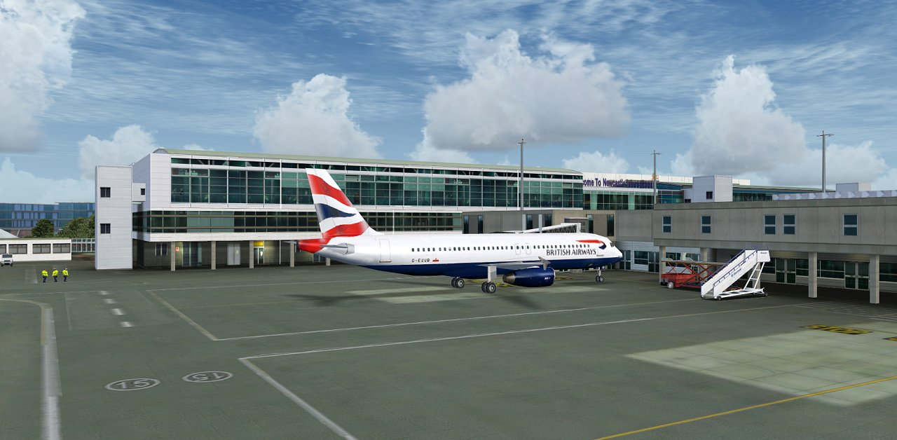 newcastle airport - photo #37