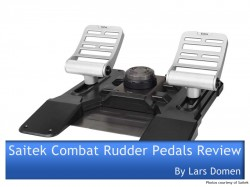 Saitek Combat Rudder Pedals Review