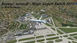 Review: Aerosoft – Mega Airport Zurich 2012 for FSX
