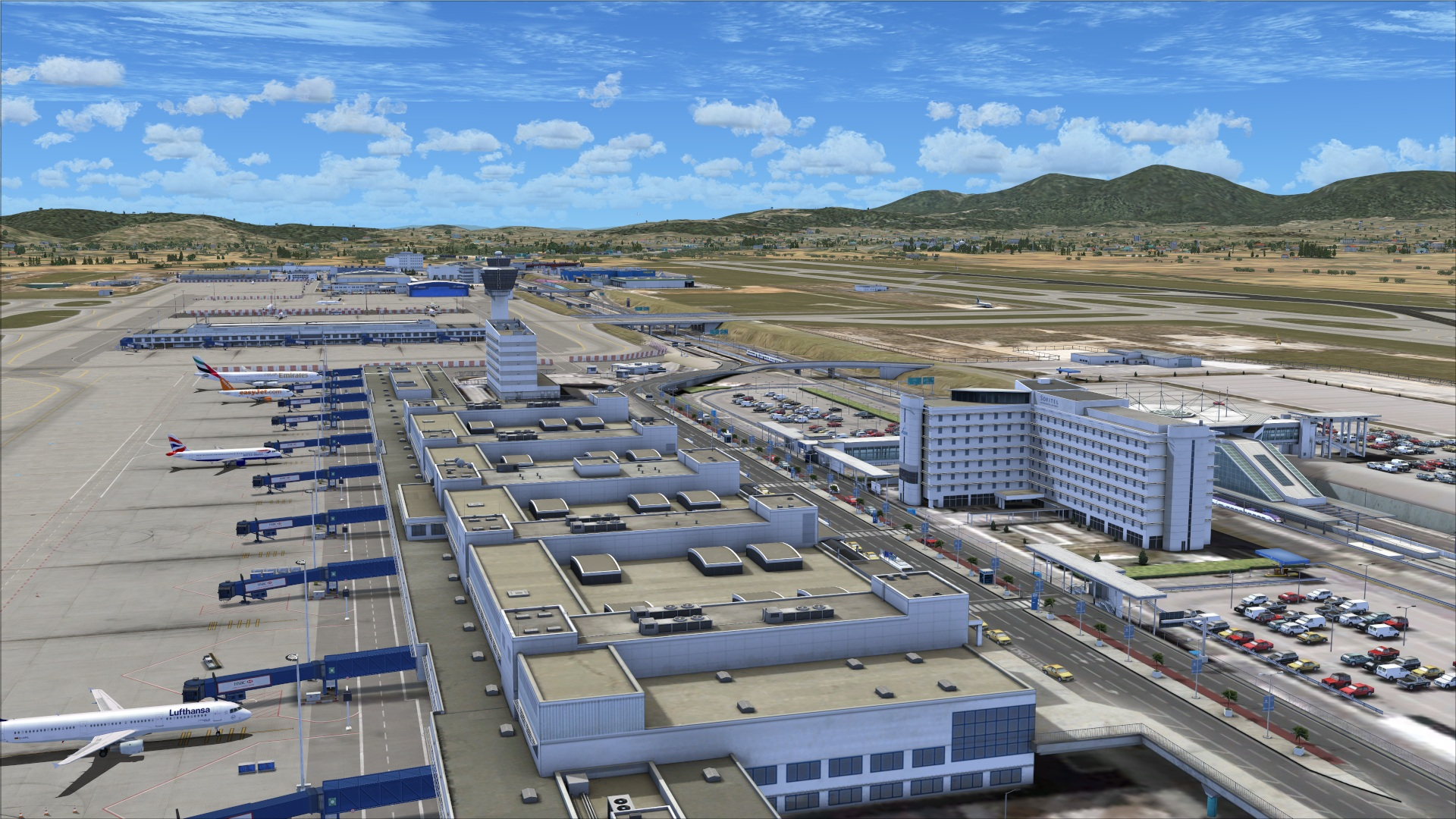 Review of FlyTampa – Athens for FSX