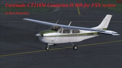 Carenado CT210M Centurion II HD for FSX review