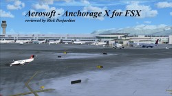 Review of Aerosoft – Anchorage X for FSX