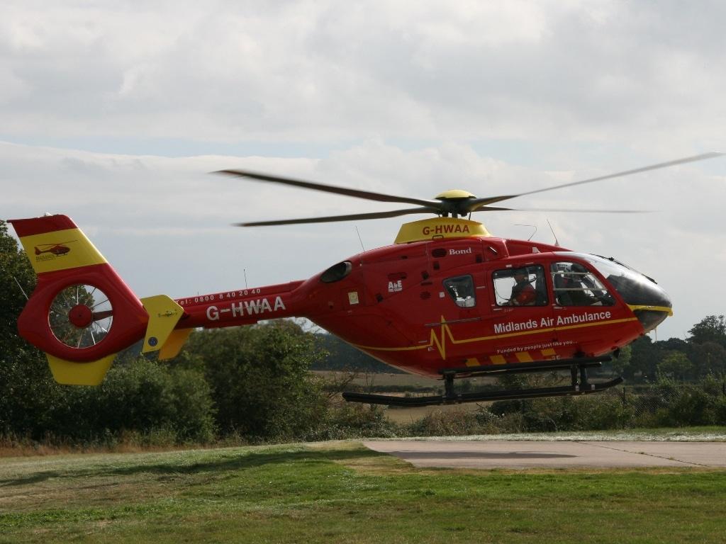 Midland Air Ambulance EC135 G-HWAA
