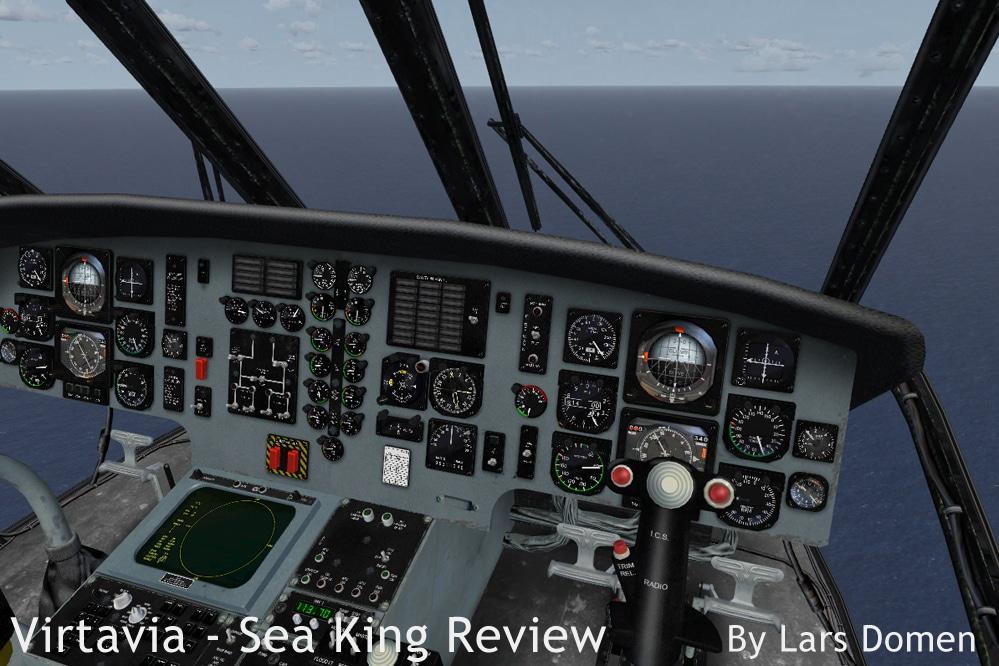 Virtavia – Westland/Sikorsky Sea King Reviewed