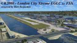 UK2000 – London City Xtreme EGLC for FSX