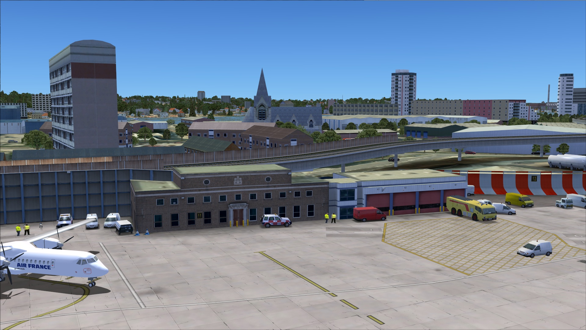 Uk2000 London City Xtreme Eglc For Fsx Uk2000 Have