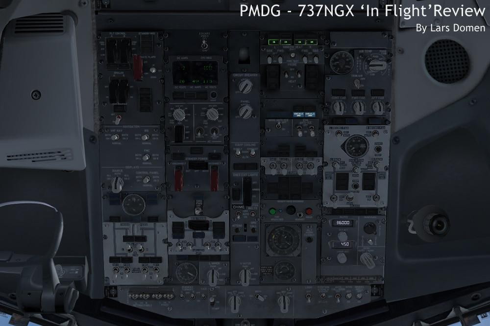 Light Panel: Panel Light Pmdg 737