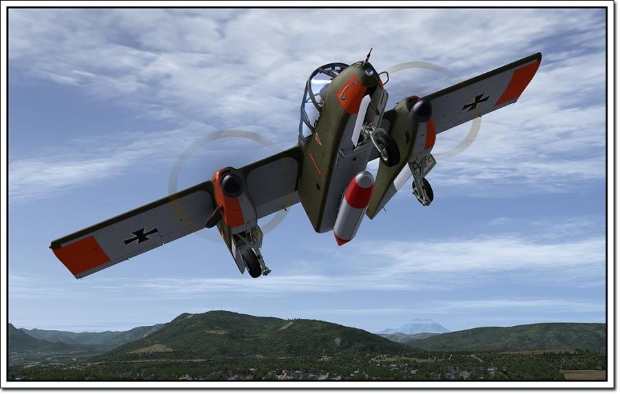 Microsoft Flight Simulator X Bronco X Addon HI2U